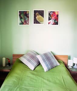 Lovely doublebed room in cosy house - Dolphins Barn - Casa