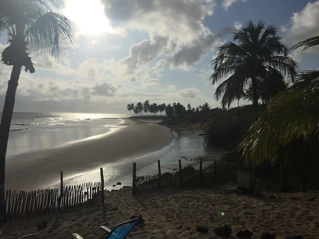 Chalets delante del mar en Brasil - Maracajaú - Chalé