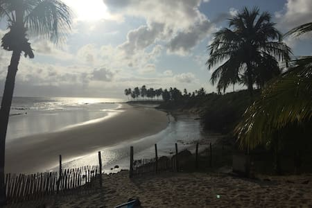 Chalets delante del mar en Brasil - Maracajaú - Hytte (i sveitsisk stil)