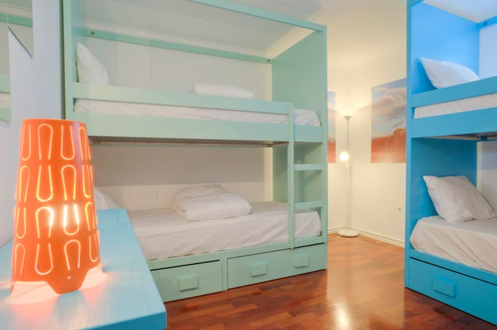 Female Dorm Rooms - Blue Boutique Hostel