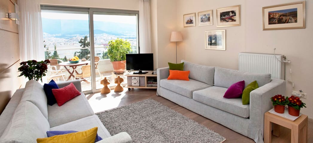 Luxury Suite with marvelous View - Athina