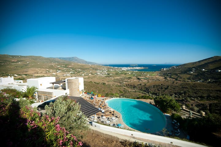 Villa with breathtaking view & pool - Andros - Villa
