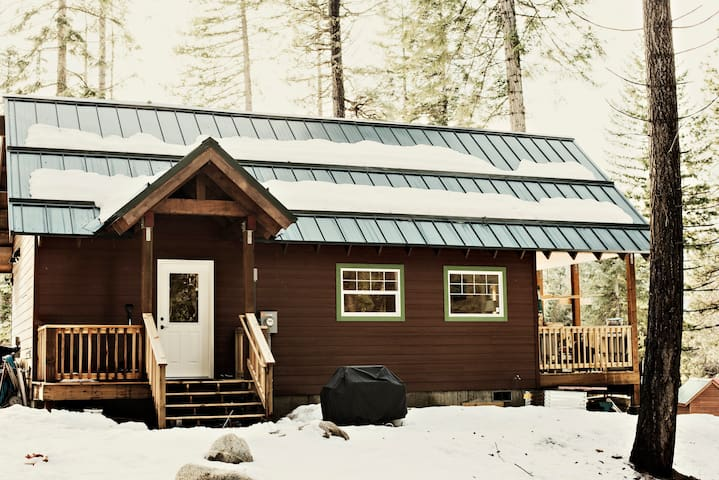 Holiday Lane Cabin, Fish Lake, WA - Leavenworth - Hus