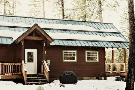 Holiday Lane Cabin, Fish Lake, WA - Leavenworth - Casa