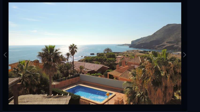 GRANDES VISTAS AL MAR Y CALAREONA - Cabo de Palos - 一軒家