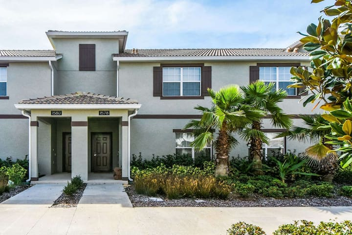 This enchanting home is perfectly located for family vacations to Walt Disney World® Resort and the other attractions. Offering upscale amenities, decor and comfort, this home will provide the perfect base for your next vacation.