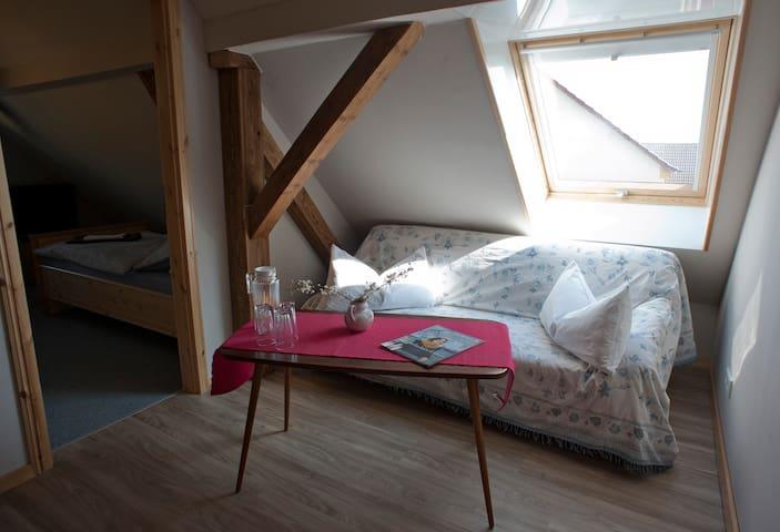 Zimmer in Gästehaus auf dem Land - Zschepplin - Flat