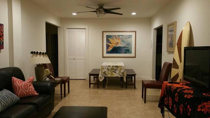 Peaceful new 3 bedroom beach home - Kaaawa - Ev