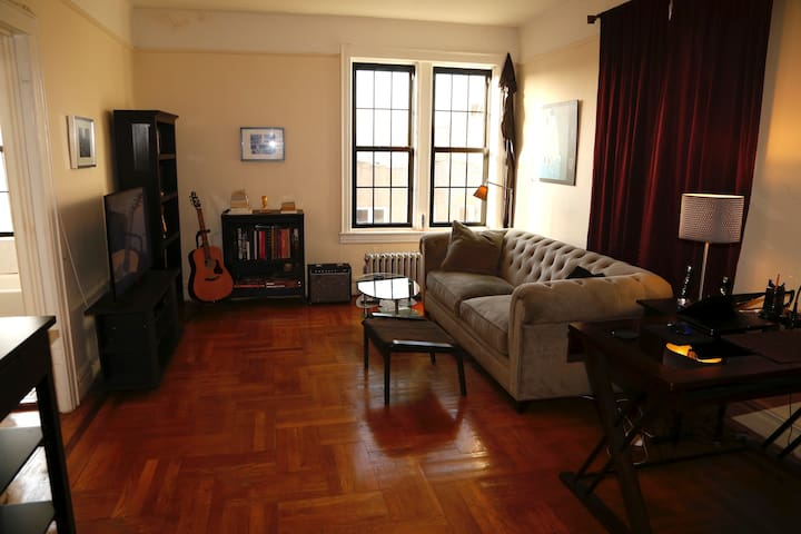 Sunny spacious 1-bd in great Brooklyn neighborhood