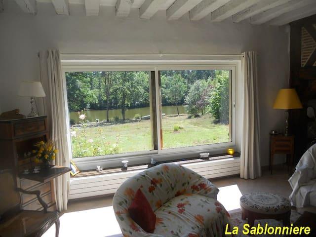 au coeur de la Sologne - Chaumont-sur-Tharonne - Huis