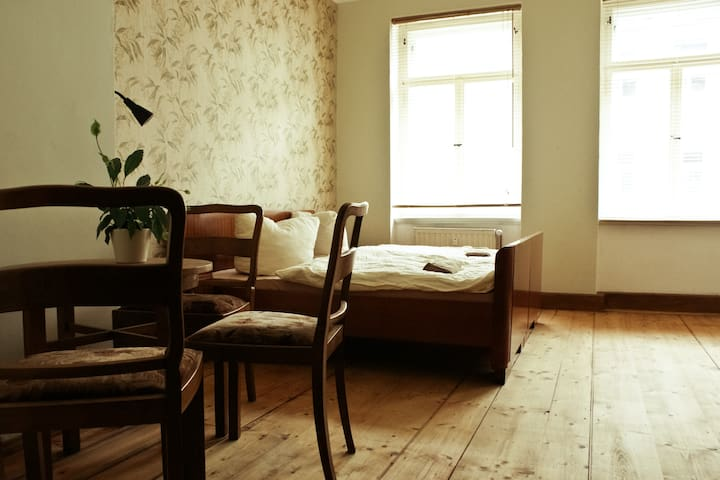 Charming apartment in old building - Leipzig - Pis