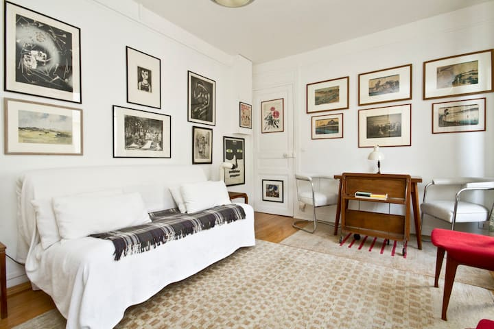 ART GALLERY FLAT Near Montmartre - Paris - Apartemen