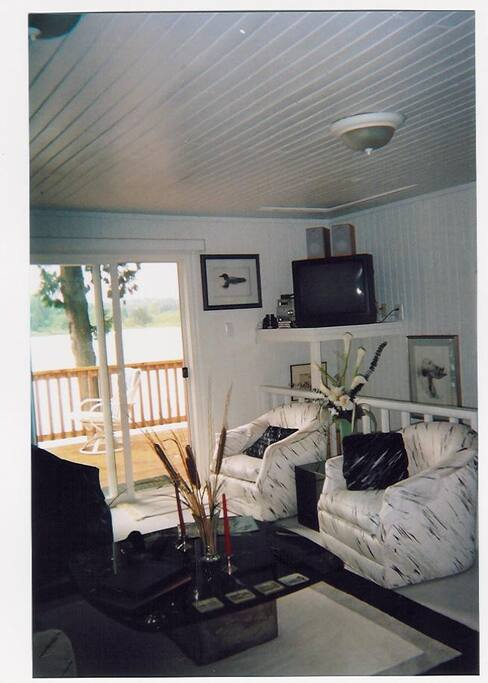 living room, flat screen