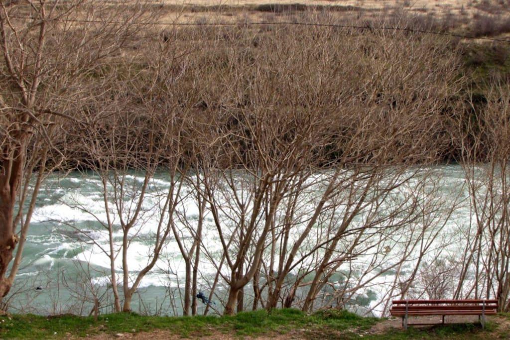 Neretva river from the balcony