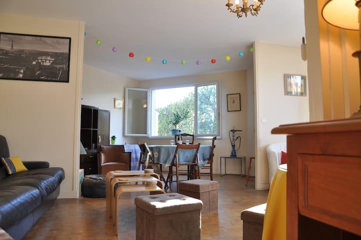 Brand new full flat Boulogne Paris Auteuil 625sqft - Boulogne-Billancourt - Appartement