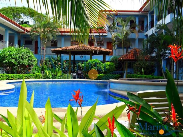 Marina Loft Studio 1 block to beach - Coco - Apartamento
