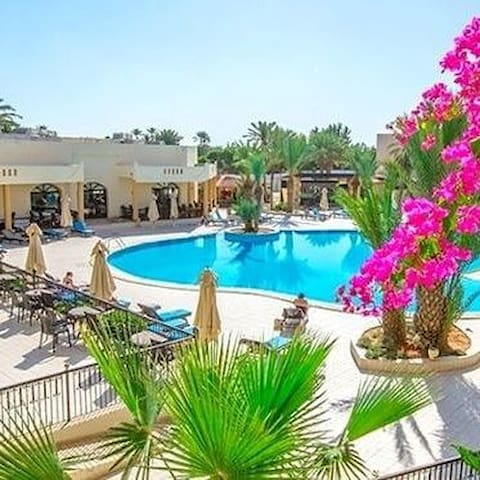 Hôtel green palm djerba 4 étoiles en demi pension
