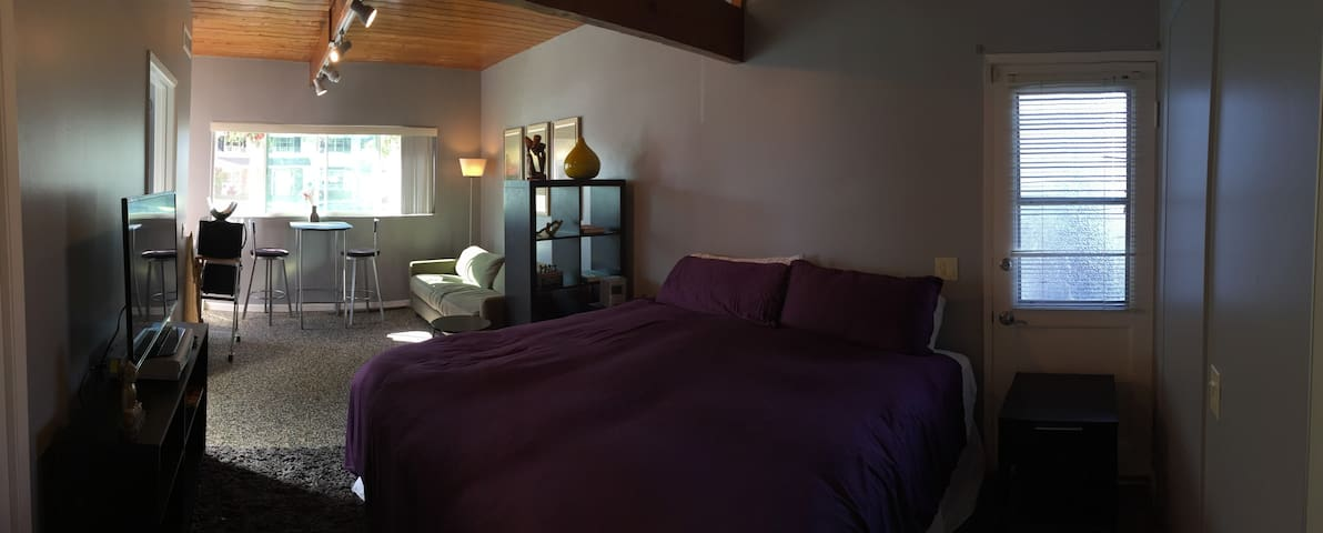 Beautiful & Well Equipped Studio - Santa Barbara - Flat