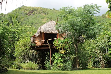 TREE HOUSE in the garden - Puna'auia