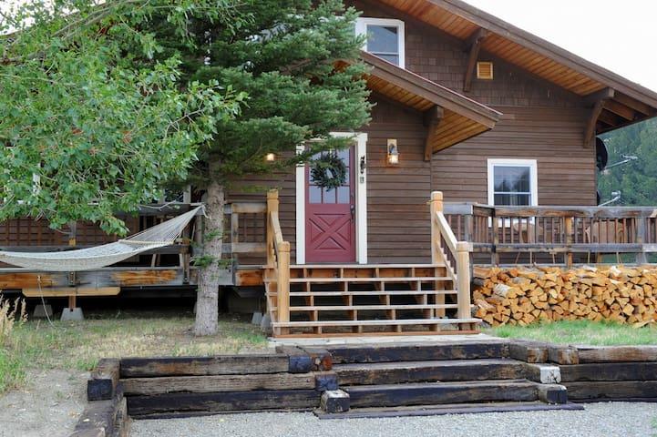 Bowmore Cabin  - Wilsall - Huis