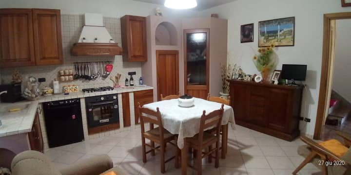 Lovely house in the countryside of Nemoli (PZ)