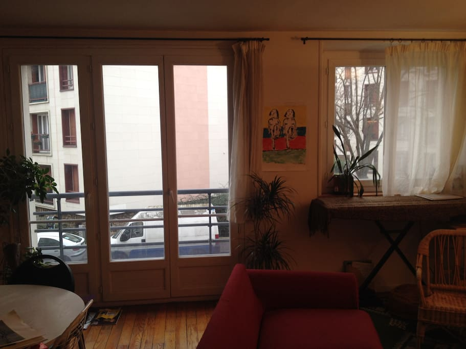 Bel appartement proche 15 me appartements louer issy for Appartement atypique 15eme