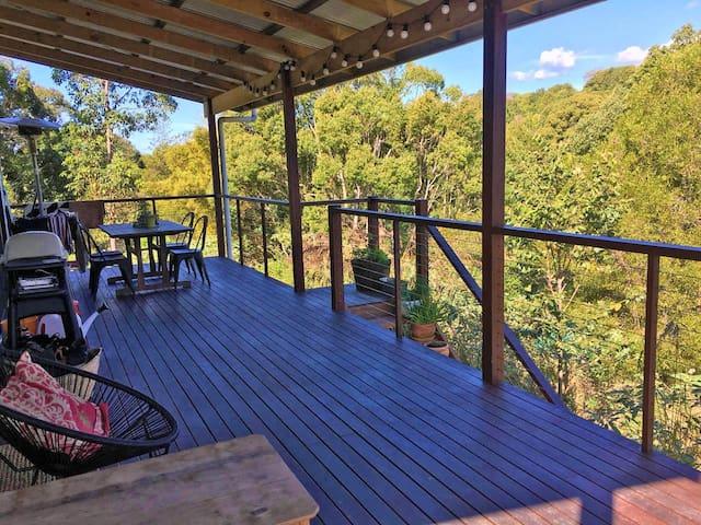 Byron Bay Hinterland Cottage - Tyagarah - Maison
