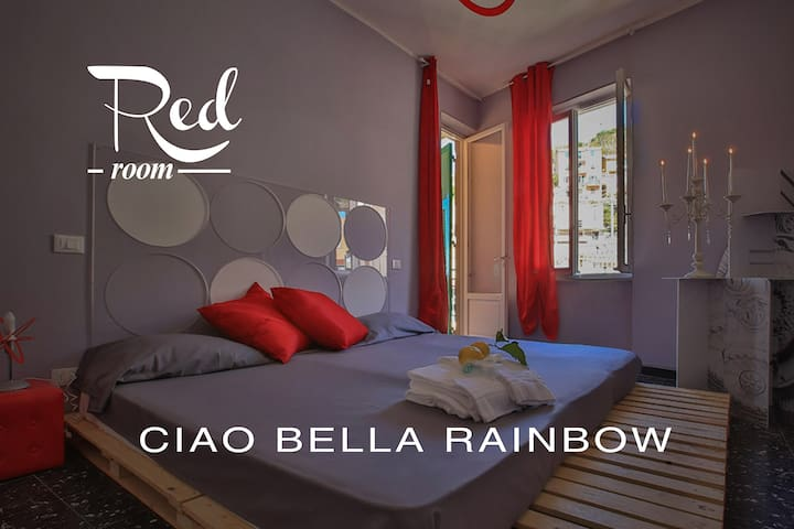 Ciao Bella Rainbow - Red Room