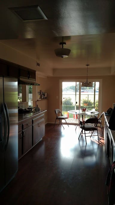 Microwave, fridge, stove, electric stove top, coffee maker, dishwasher, Ninja blender, toaster-all run on solar power!