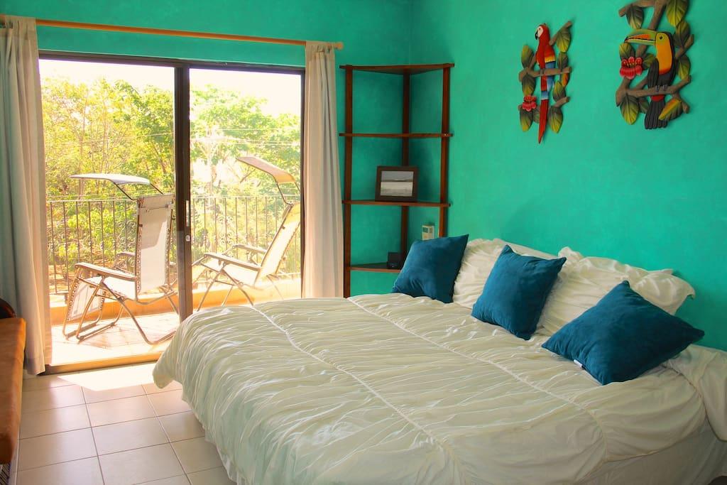Master Bedroom plus Private Balcony