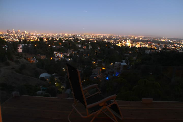 views from private balcony
