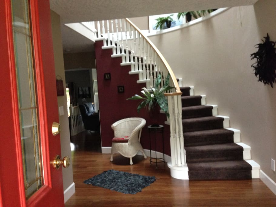 Entrance way stairwell