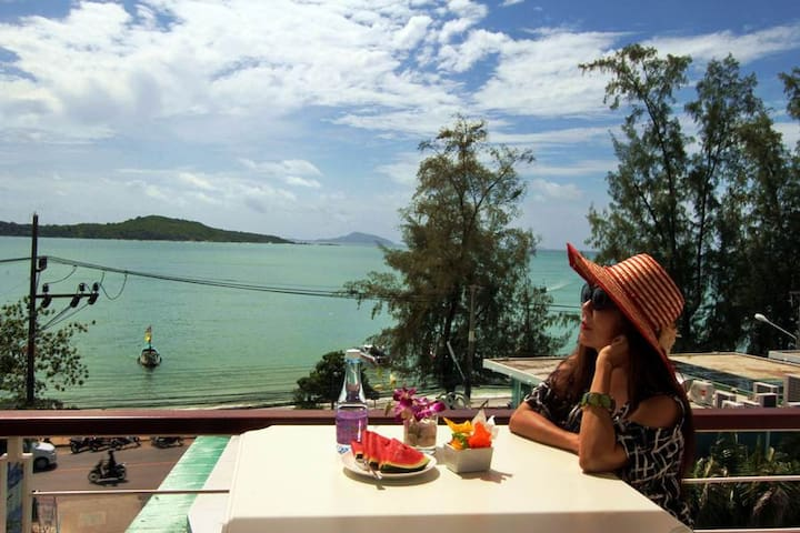 Charming Sea View Studio Apartment on Rawai beach² - Rawai - Appartamento