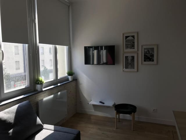 Studio moderne et lumineux 2