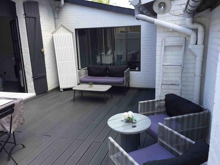 Charmante maisonnette avec terrasse