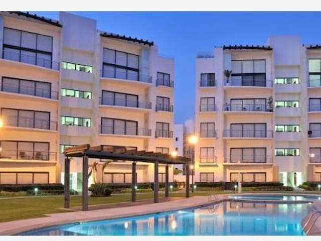 Depto Paraiso Country Club - Emiliano Zapata - Apartmen