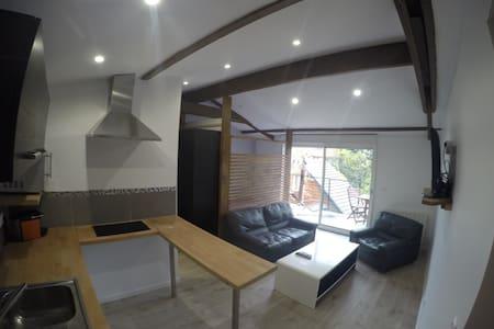 Beau studio neuf calme balcon - Fontenay-aux-Roses - Apartment