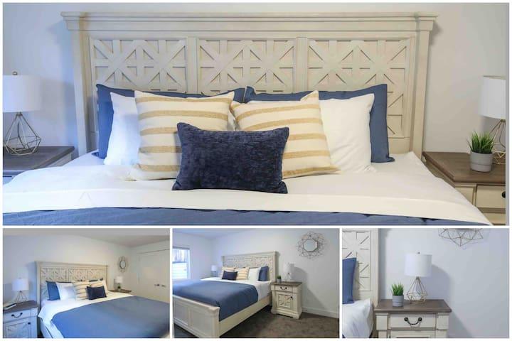 Basement King Bedroom