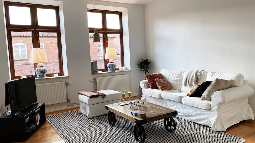 Beautiful spacious apartment in Central Lund
