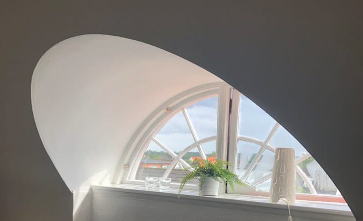 Wunderful attic with seaview!