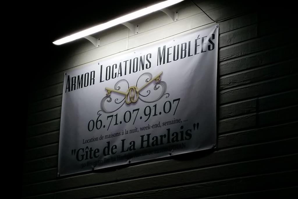Locations à la nuit, semaine, ...de 1 à 16 personnes, Gîtes de la harlais dinan aucaleuc