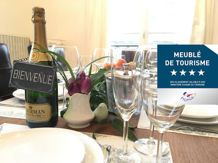 4 STAR Apartment in the heart of historic Saumur 2