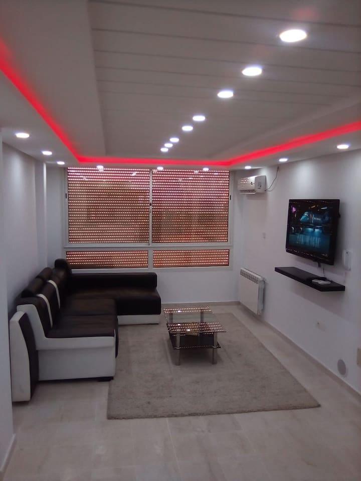 Wohnzimmer bei der 1 Etage