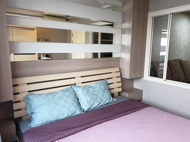 Cozy 1 bedroom on the 20th floor in Pinklao :D