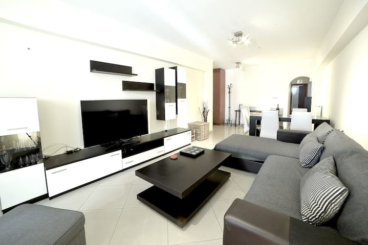 Athens Luxury Apartment  86sqm 13' City Center - Athina - Appartement