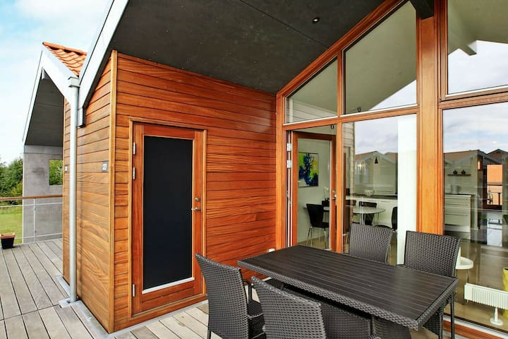 Modern Holiday Home with Barbecue in Bogense