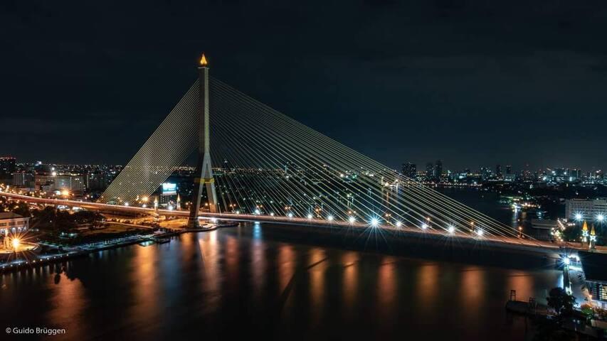 Professor Nest,  Best River view in old Bangkok