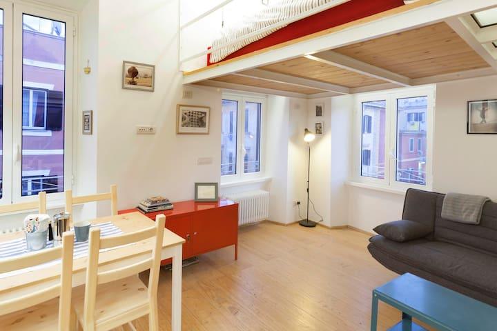 Loft Pigneto, Amazing studio apartment - Rome - Appartement