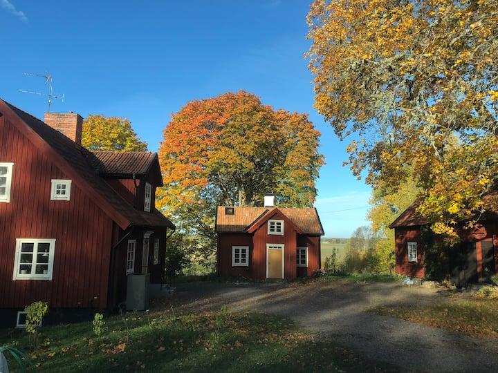 Comfortable room in village near Uppsala