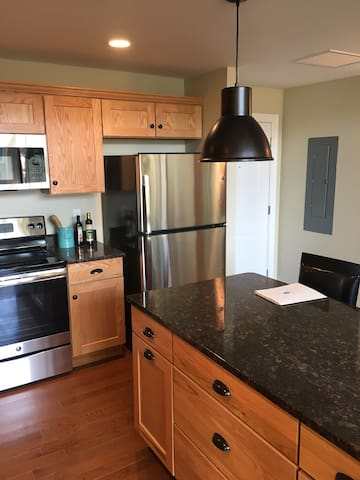 Brand new 1 bedroom private apartment in Clinton